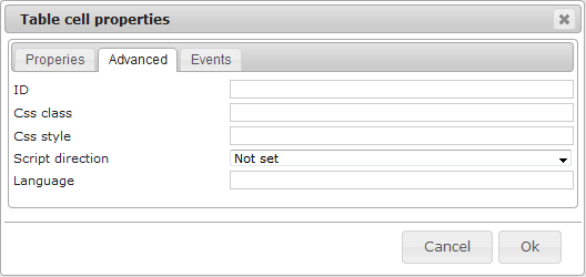 Editor Table | CMS Tools Files | Documentation: Table cell advanced (image)