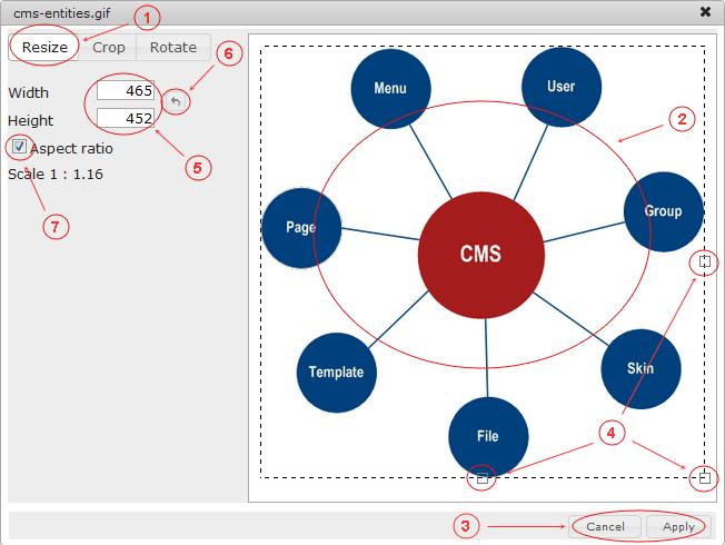 Manager Image Resize | CMS Tools Files | Documentation: Resize image (image)