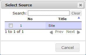 Locale Manage | CMS Tools Localisation| Documentation - Select source (image)