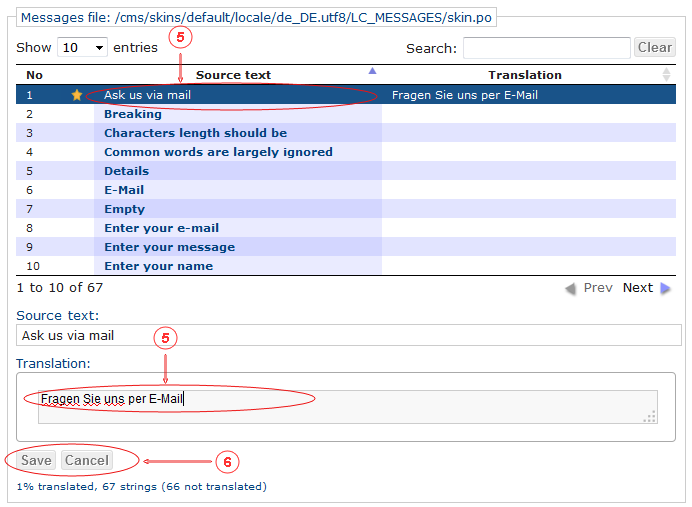 Locale Translate | CMS Tools Localisation| Documentation (image)