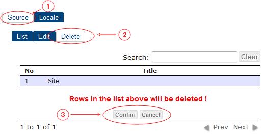 Source Delete   CMS Tools Localisation  Documentation (image)