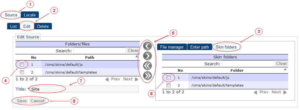 Source Edit | CMS Tools Localisation| Documentation (image)