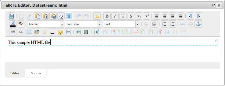 New Edit Page Data Streams   CMS Tools Pages   Documentation: datastream WYSIWYG editor (image)